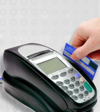 Traditional credit card processing