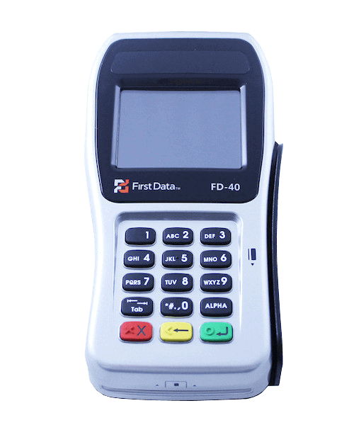 First Data FD40 Pin Pad