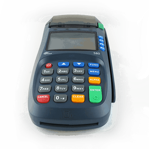 PAX S80 credit card machine