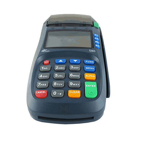 PAX S80 credit card machine
