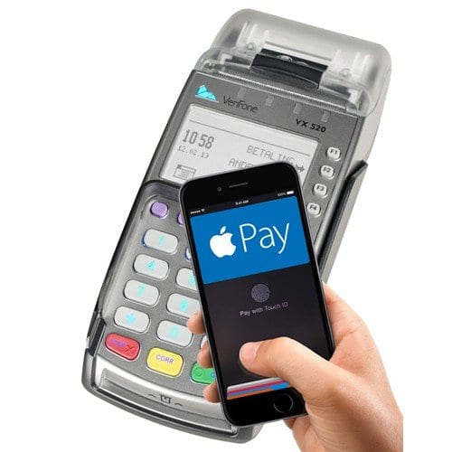 Verifone VX520 accepts apple pay