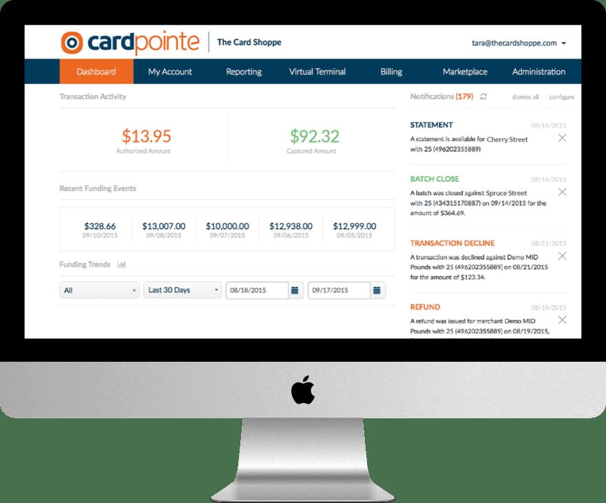 CardPointe Merchant Center