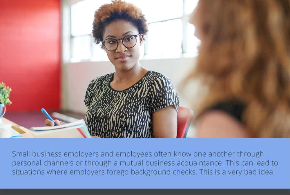 Small Business Security Starts with the Right Employees